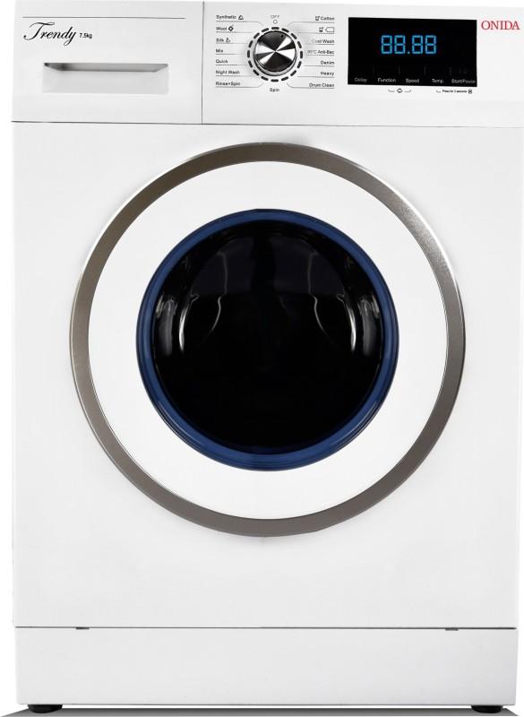 Onida 7.5 kg Fully Automatic Front Load Washing Machine White(F75TDWW)