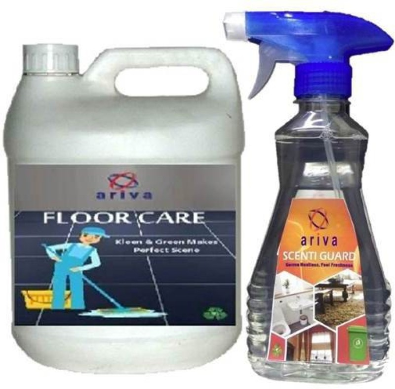 Ariva Scenti Guard 500ml complimentary with Pack of 5L. floor care(5 L)