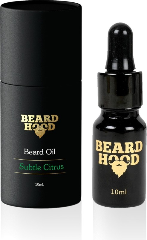 BEARDHOOD Subtle Citrus Beard Oil Hair Oil(10 ml)