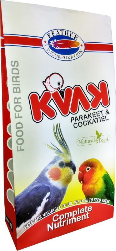 KVAK Parakeet & Cockatiel 1 kg Dry Bird Food