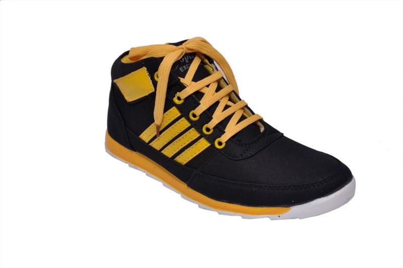 Rimoni Casuals(Black, Yellow)