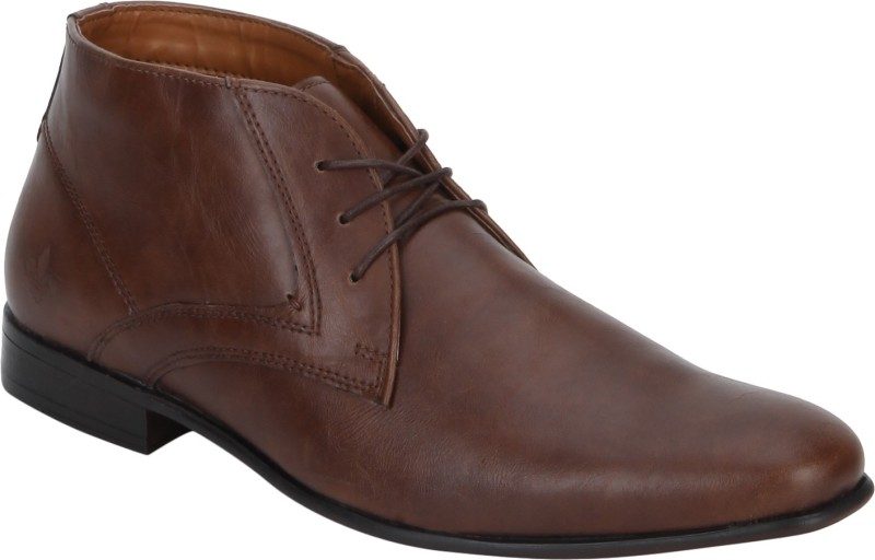 Bond Street By Red Tape Men Boots For Men(Tan)