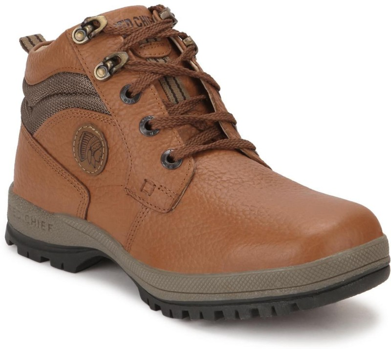 Red Chief RC2501 Boots For Men(Tan)