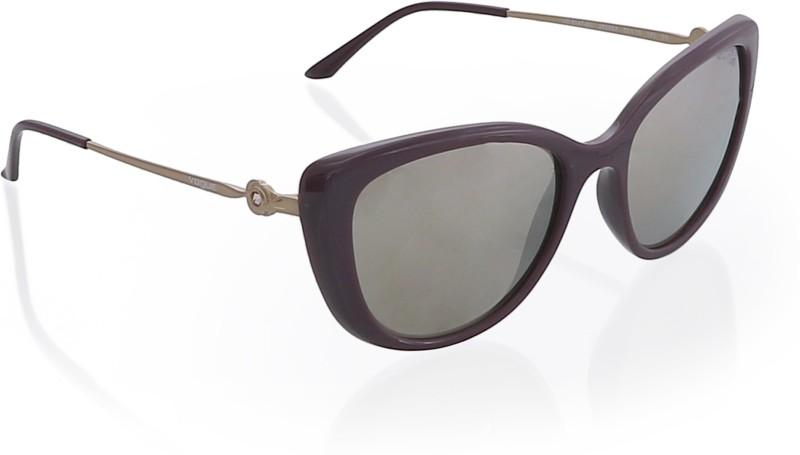 Vogue Cat-eye Sunglasses(Golden)