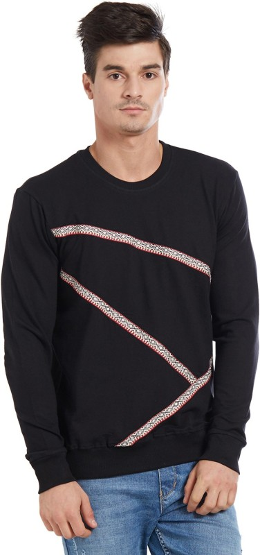 Deezeno Full Sleeve Solid Men's Sweatshirt