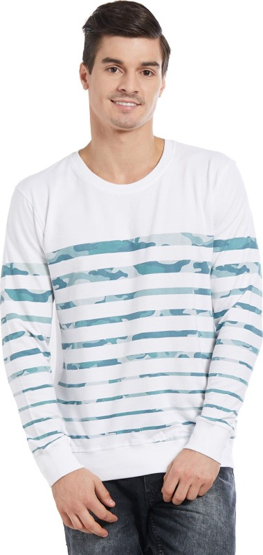 Deezeno Full Sleeve Striped Men's Sweatshirt