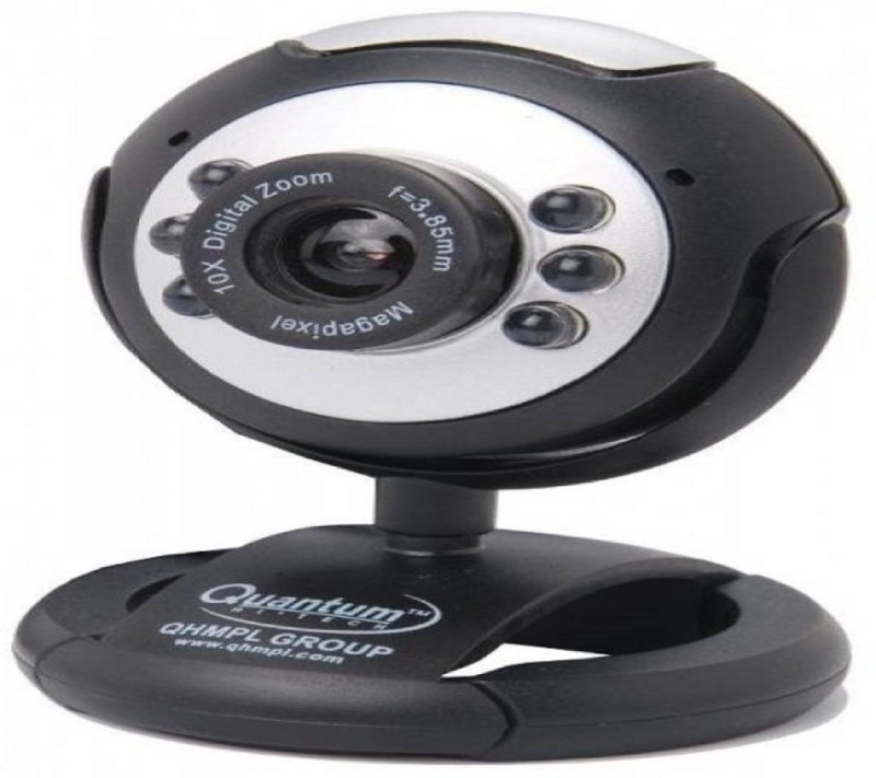 Quantum M495LM Night Vision Webcam(Black)