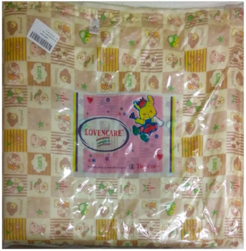 Tiny Care Baby Bed Twin Regular 211 L(1+1) Size 3 Pieces/Pack- Lemon Standard Crib(Cotton, Lemon)