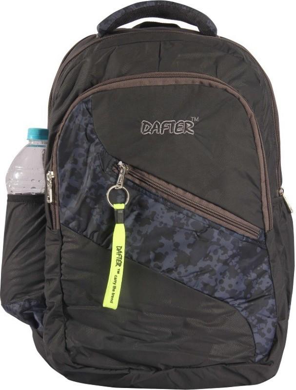 dafter Black Laptop Backpack 1.5 L Backpack(Black)