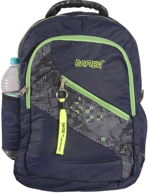 dafter polyester Laptop Backpack (Blue) 1.5 L Backpack(Blue)