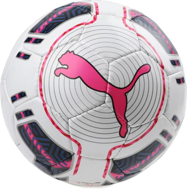 Puma evoPOWER 3 Hardground HS Football - Size: 5(Pack of 1, White)