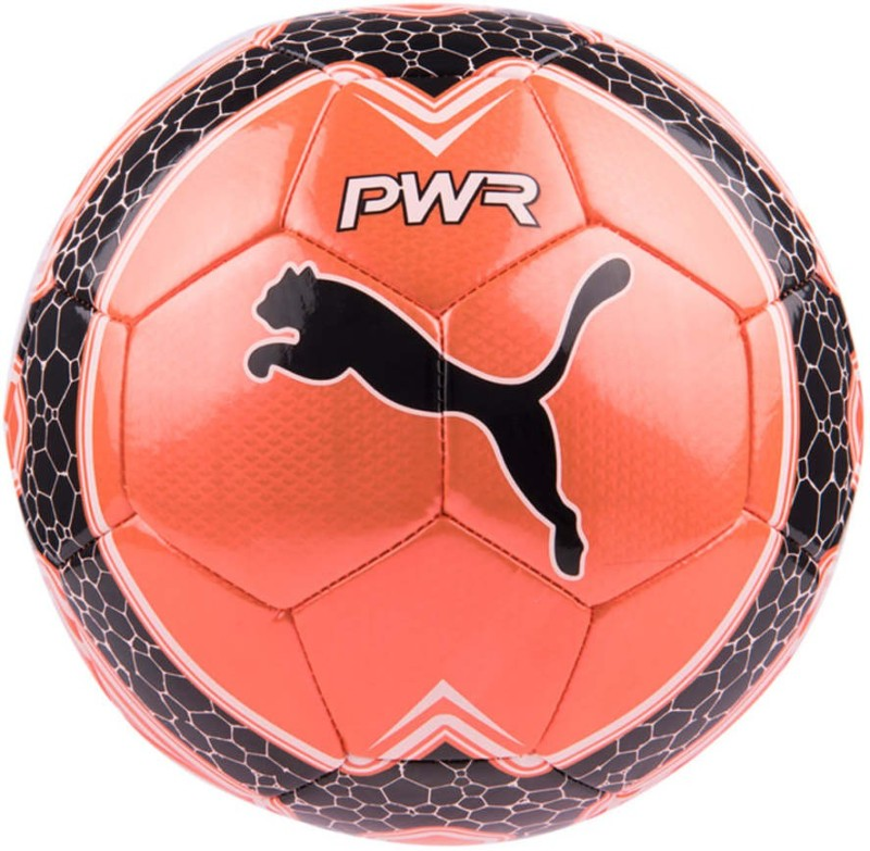 Puma evoPOWER Vigor Graphic 4 Football - Size: 4(Pack of 1, Orange)