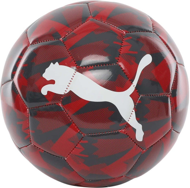 Puma Arsenal Camo Ball Football - Size: 5(Pack of 1, Red)