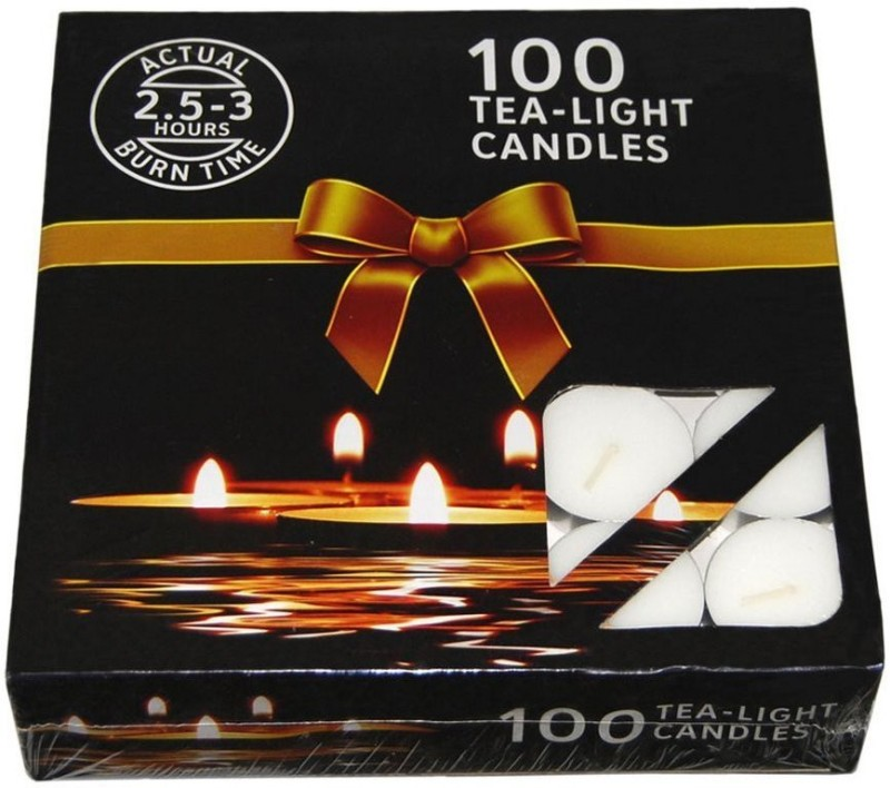 Nanki Trades Candles Candle(White, Pack of 1)