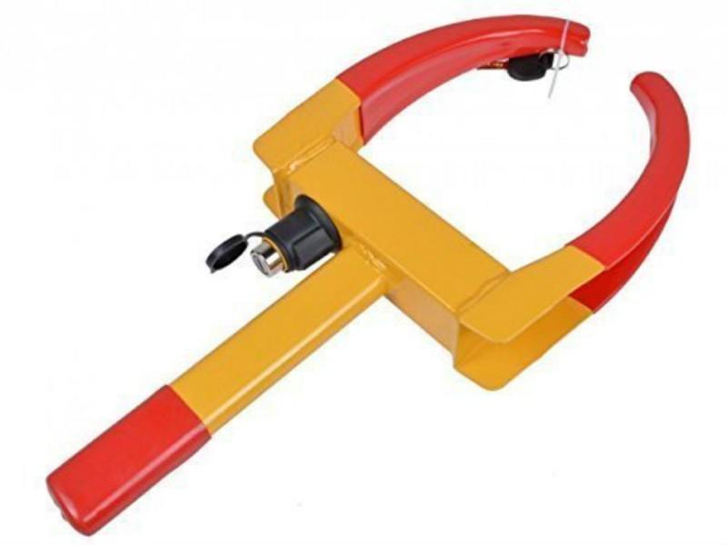 Shrih SHF-1199 Universal Car Wheel Lock Security Tire Clamp Wheel Lock
