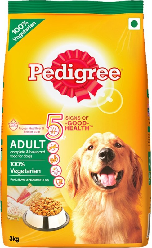 Pedigree Adult Vegetable Dog Food(3 kg)