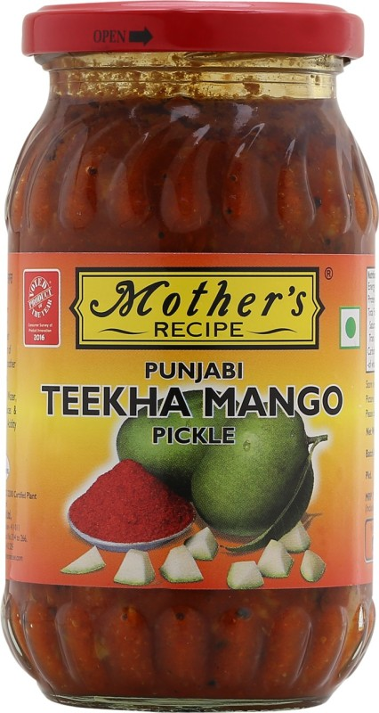 Mothers Recipe Punjabi Teekha Mango Pickle(400 g)
