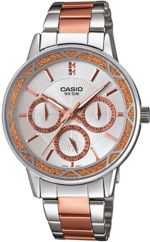 Casio A902 Enticer Ladies Analog Watch - For Women