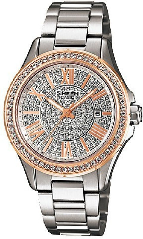 Casio SX078 Sheen Analog Watch - For Women