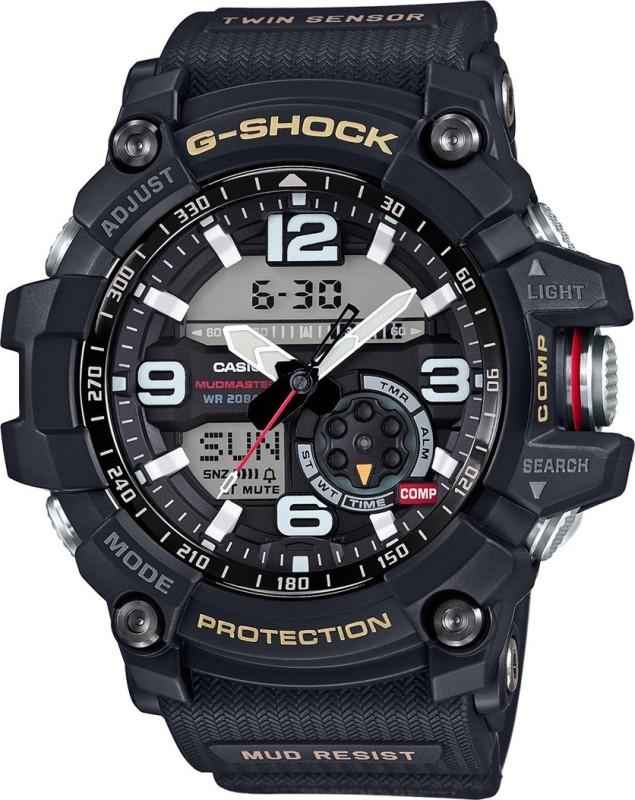 Casio G660 G-SHOCK Mud Master Analog-Digital Watch - For Men