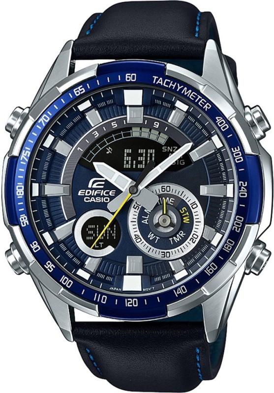Casio EX355 Edifice Chronograph Analog-Digital Watch - For Men