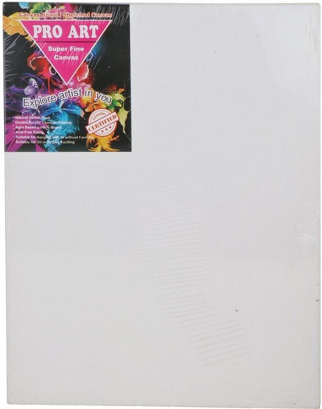 Dreamy MDF Board Cotton Extra Fine Grain Board Canvas (Set of 2)(White)