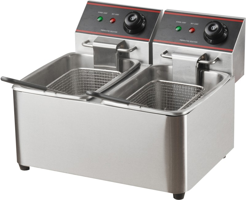 SHIVA SKEPL-DFF-DT-4L+4L 4 L Electric Deep Fryer