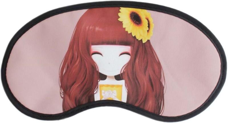 Tootpado Anime Cartoon Sleep Eye Mask With Elastic (Pack of 2) - Pink (LNTq073)(12 g)