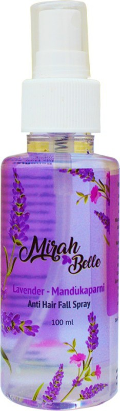 Mirah Belle Naturals Lavender - Mandukaparni Hair Growth - Hair Spray Hair Fragrance Spray(100, Transparent)