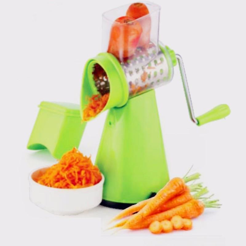 ShopyBucket Turbo Chip-Chop GraterNJuicer Real Fruit & Vegetable Clear Barrel Juicer Multipurpose Hand Juicer Multicolor pack of 1 (Color May Vary) Stainless Steel, Plastic Hand Juicer(Multicolor Pack of 1)