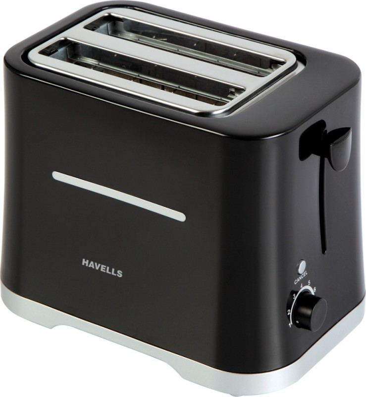 Havells Crisp 700 W Pop Up Toaster(Black)