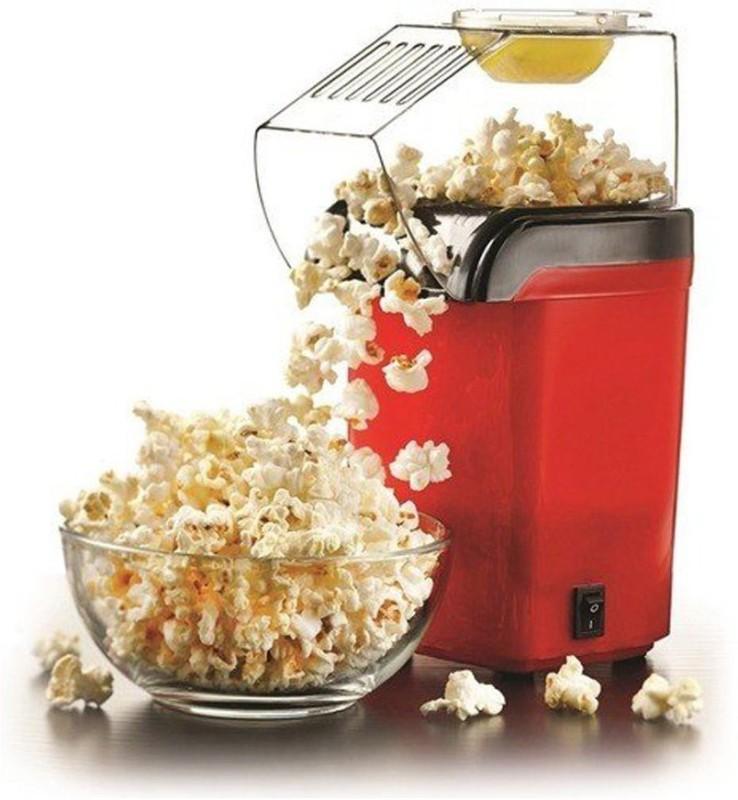 Smiledrive Portable Popcorn Maker, Mini Pop Corn Making Popping Machine Hot Air Portable Popcorn Maker, Mini Pop Corn Making Popping Machine-Get Theatre Quality Popcorn at Home 10 g Popcorn Maker(Red)