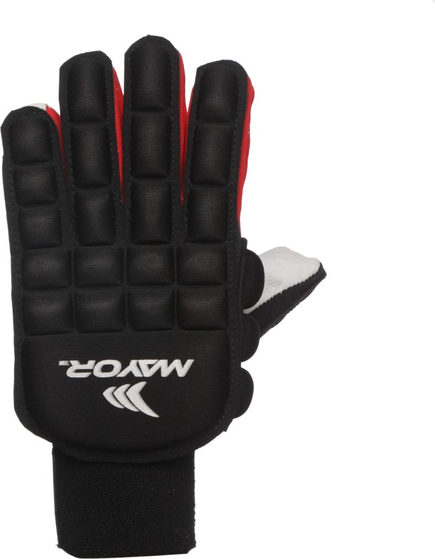 Mayor Knight Hockey Gloves (L, Black)