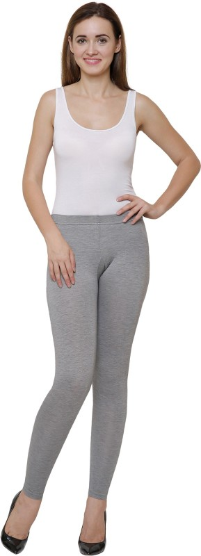 Ayaki Bodycare Grey Melange Solid Thermal Womens Pyjama