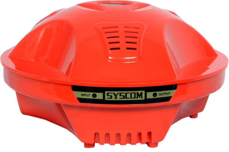 SYSCOM - ABS 50 E Voltage Stabilizer for Refrigerator with 5 years warranty(Red)