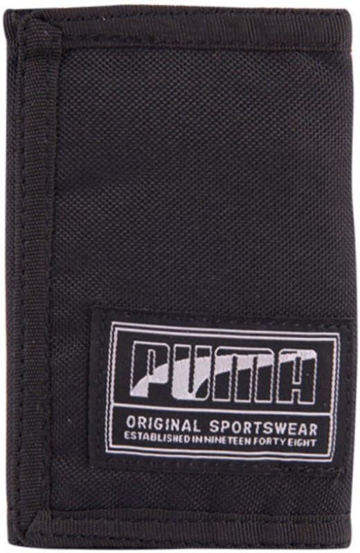 Puma Men Black Artificial Leather Wallet