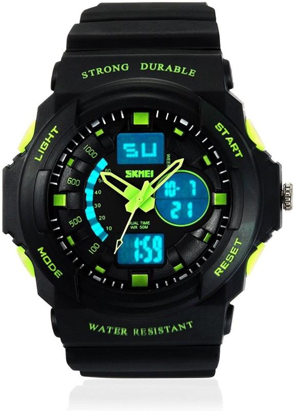 Skmei AD0955 (BK GREEN) Men's Watch image