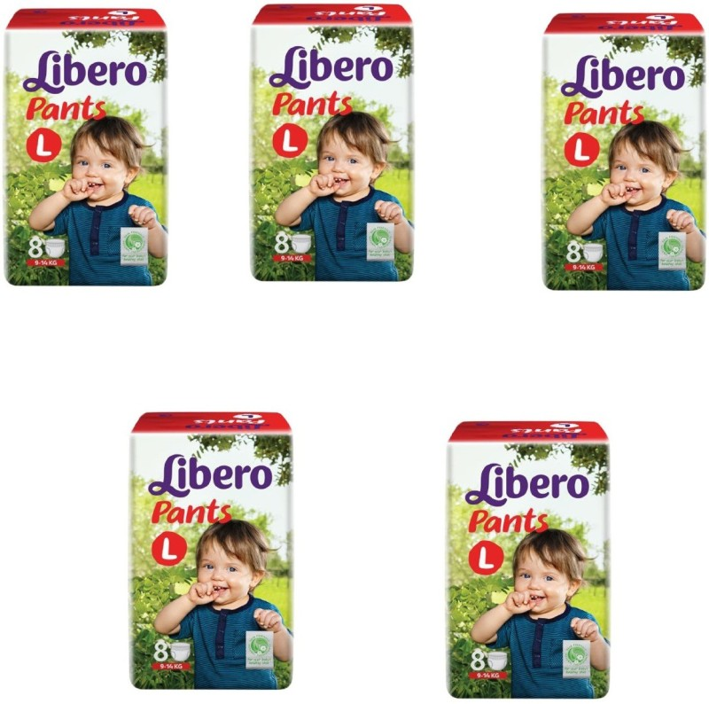 Libero Libero Large Size Diaper Pants (8 Counts) Pack of 5 - L(40 Pieces)