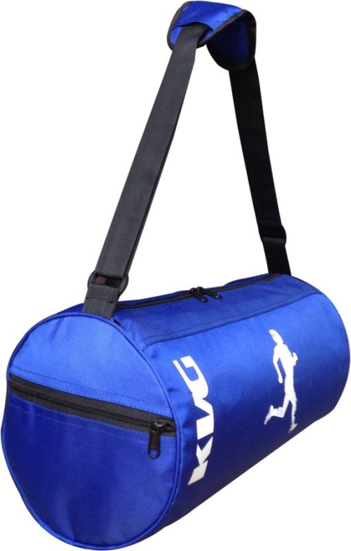 KVG Blue RUNNING Gym Bag G67 Gym Bag(Blue)