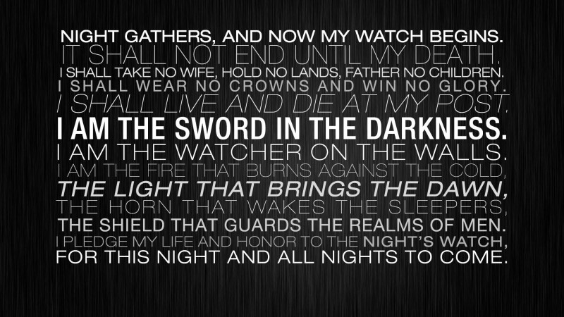 TV Show Game Of Thrones Fantasy Typography Dark Quote Statement HD Wall Poster Paper Print(12 inch X 18 inch, Rolled)