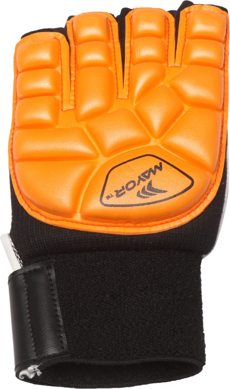 Mayor Guardian Hockey Gloves (L, Orange)