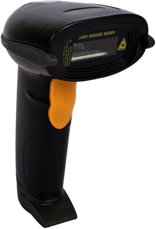 swaggers Barcode scanner Laser Barcode Scanner(Handheld)