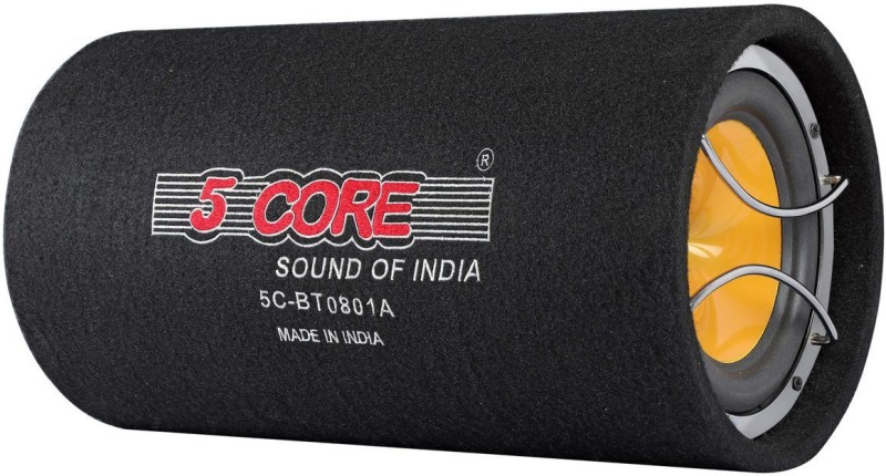 5 Core 5C08-01-A With Amplifier 8 Inch Subwoofer(Powered , RMS Power: 100 W)