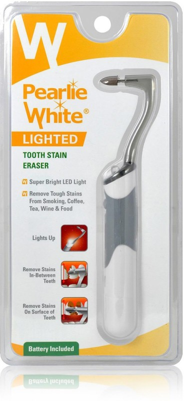 pearlie white Lighted Tooth Stain Eraser Teeth Whitening Kit