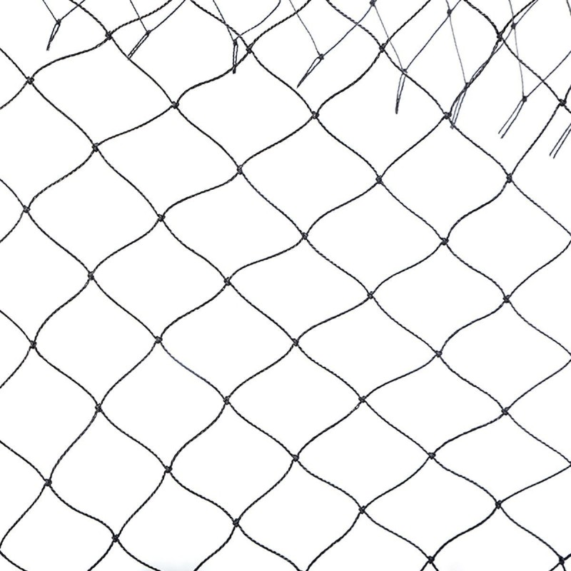 EASYSHOPPINGBAZAAR ANTI BIRD NET 10 FOOT X 30 FOOT WITH STRONG NYLON STRINGS COLOR IN WHITE Camping Net(White)
