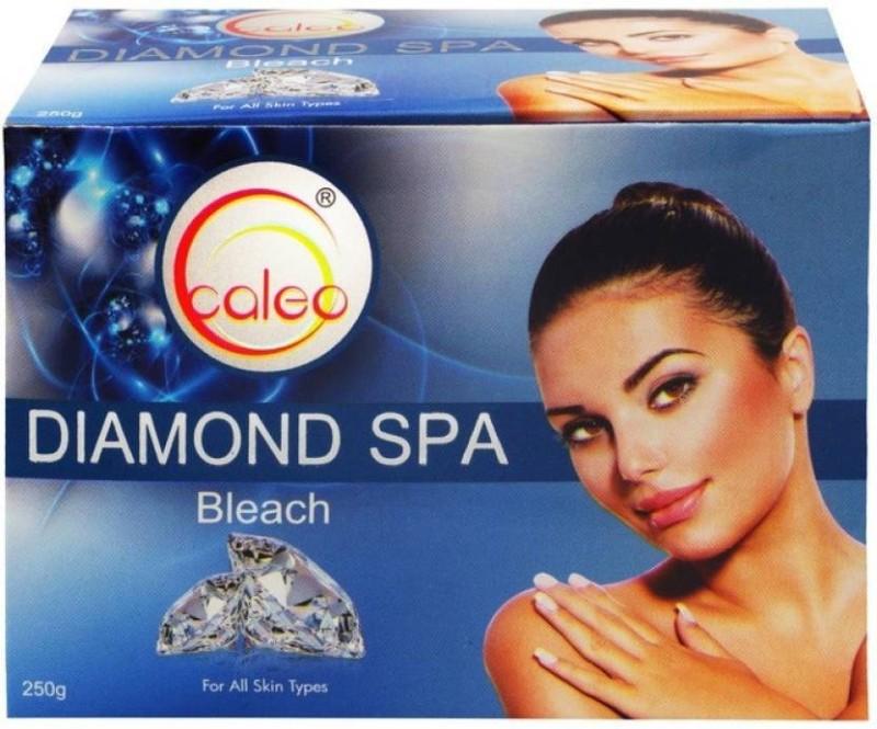 Caleo Diamond Spa Bleach Cream-Pack of 2(250 g)