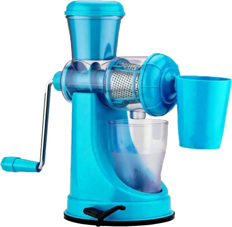 THUNDERFIT Plastic, Steel Hand Juicer(Blue Pack of 1)
