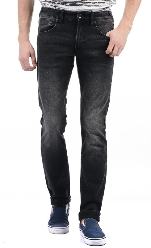 Pepe Jeans Slim Mens Black Jeans