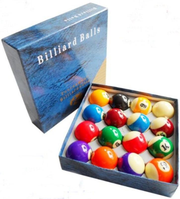 Laxmi Ganesh Billiard XIN KANG POOL BALL SET Billiard Ball(Pack of 16, Multicolor)