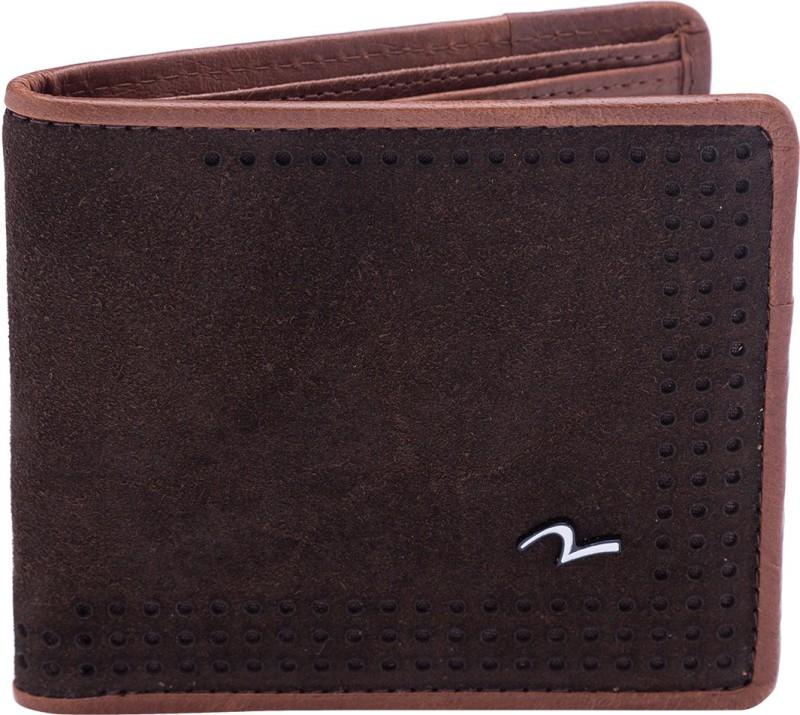 Spykar Men Brown Genuine Leather Wallet(8 Card Slots)